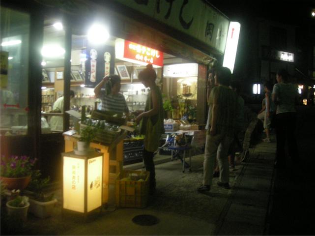 10 鳴子温泉街-夕市